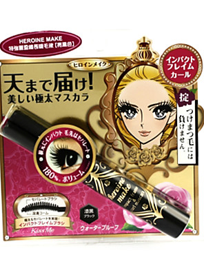 Kiss Me Heroine Make Mascara #Black 7.5g