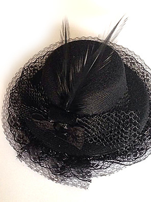 תכשיטים לוליטה גותי לבוש ראש לוליטה Black לוליטה אביזרים אביזר לשיער אחיד ל גברים / נשים פוליאסטר