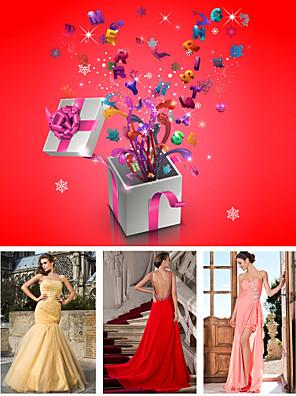 Livraison gratuite sac chanceux contient trois robes d'occasion spéciale