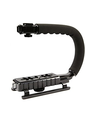 אחיזת כף יד מייצב steadycam ידית וידאו cc-vh02 למצלמת וידאו המיני DV מצלמות DSLR Canon Nikon SONY