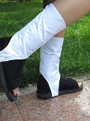 Sapatos de Cosplay Naruto Fantasias Anime Sapatos de Cosplay Algodão Unissexo