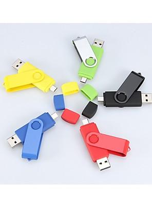 8GB roterende usb micro usb OTG flash pen-drev