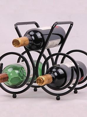 Vintage Design acél bor rack tulajdonosa bar üveget polcon bár dekoráció kijelző