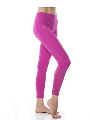 מכנסיים יוגה תחתיות / מכנסיים / טייץ רכיבה על אופניים / חותלות נושם / ייבוש מהיר / wicking טבעי מתיחה בגדי ספורט לנשים Yokalandיוגה /