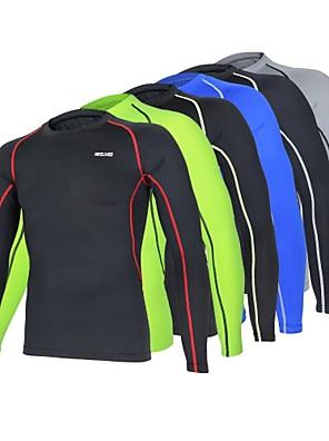 Běh základní vrstvy / Kompresní Suit / Trička / Vrchní část oděvu Pánské Dlouhé rukávyProdyšné / Odolný vůči UV záření / Rychleschnoucí /