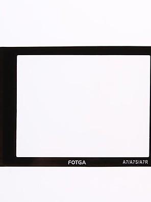 שומר מגן אור של זכוכית LCD מסך fotga® עבור Sony Alpha A7 a7r A7S מצלמה