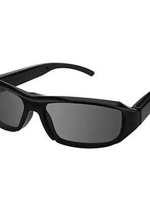 משקפי שמש מקליט וידאו חדשים משקפי שמש HD1080 עיצוב מדריך למצלמה שחור מצלמה נסתרת