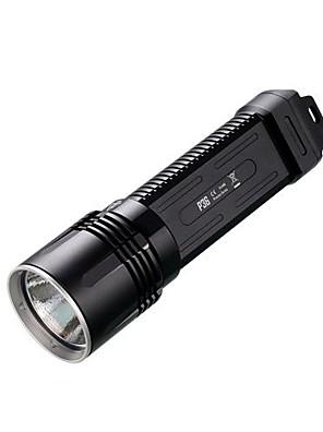 Nitecore® LED zseblámpák LED 2000 Lumen Mód Cree 18650Vízálló / Újratölthető / Ütésálló / Csúszásgátló markolat / Taktikai / Sürgősségi /