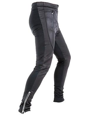 JAGGAD® מכנסי רכיבה לגברים אופניים נושם / שמור על חום הגוף / ייבוש מהיר / רצועות מחזירי אור / 3D לוחטייץ רכיבה על אופניים / מכנסיים /
