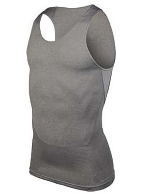 Běh Trička / Bez rukávů / Vrchní část oděvu Pánské Krátké rukávy Prodyšné / Rychleschnoucí / Komprese elastan / PolyesterFitness /
