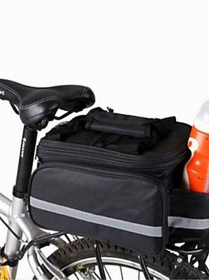 Cyklistická taška 8LTaška přes rameno / Kufr na kola/Brašna na koš Kompaktní / Multifunkční Taška na kolo Plátno Taška na koloOutdoor a