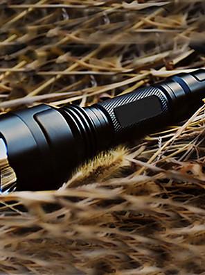 Világítás LED zseblámpák / Kézi elemlámpák LED 200 Lumen 5 Mód Cree XR-E Q5 18650 Újratölthető / Taktikai / önvédelem Alumínium ötvözet