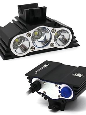 Osvětlení Čelovky / LED žárovky / Sady svítilen LED 7500 Lumenů 4.0 Režim XM-L2 T6 18650 VoděodolnýKempování a turistika / Každodenní