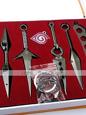 Zbraň Inspirovaný Naruto Cosplay Anime Cosplay Doplňky Zbraň Czarny / Stříbro Stop Pánský / Dámský