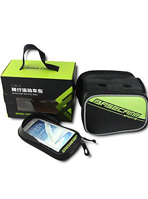 Basecamp® תיק אופניים 1.8LLתיקים למסגרת האופנייםעמיד למים / מוגן מגשם / פס מחזיר אור / עמיד לאבק / עמיד ללחות / מונע החלקה / ניתן ללבישה