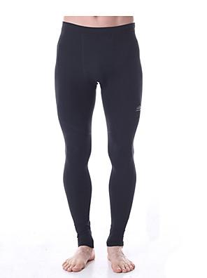 Yoga Pants Underdele / Bukser / Cykling Tights / Leggins Firevejs-strækbart / Holdt følelse / Kompressionszoner Naturlig StrækkendeSport