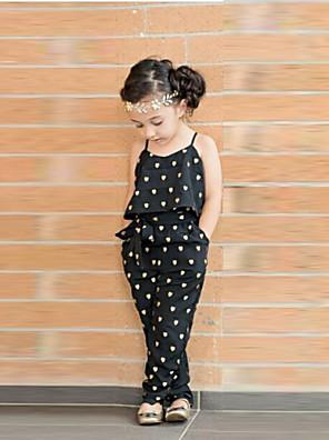 Katoenmix - Zomer/Lente - Girl's - Overall & Jumpsuit - Mouwloos