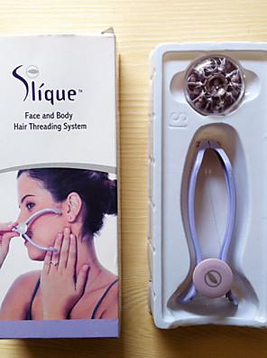 tvář tělo vlasy threading system / Vousy odstraňovač tvář tělo vlasy odstraňovač jarní epilátor epistick pro ženy