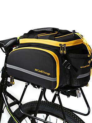 CoolChange® Bolsa de Bicicleta about16LLMala para Bagageiro de Bicicleta/Alforje para BicicletaÁ Prova-de-Água / Lista Reflectora /