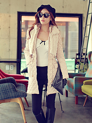 Pink Doll®Women's Casual Party OL Fashion Two Piece Long Sleeve Cotton Coat
