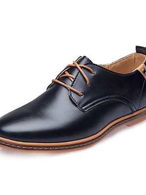 Men's Shoes Wedding / Outdoor / Office & Career / Party & Evening / Athletic / Casual Oxfords Black / Brown