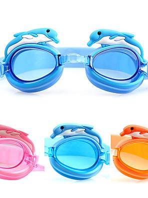 Made In China svømmebriller Børn Anti-Tåge / Vandtæt / Justerbar Størrelse Acetat Akryl Blå / Orange / Lyserød Lyserød / Blå / Orange