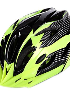 Capacete ( Vermelho , PC / EPS / PVC ) - Montanha / Esportes - Unisexo 18 AberturasCiclismo / Ciclismo de Montanha / Ciclismo de Estrada