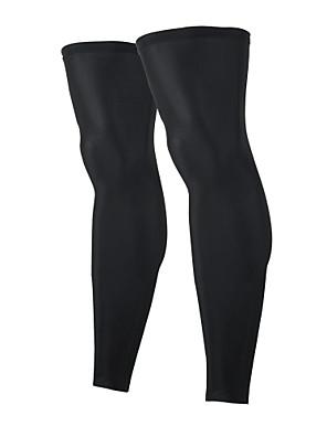 Leg Warmers Kolo Prodyšné / Zahřívací / Rychleschnoucí / Odolný vůči UV záření / Komprese / Protiskluzový / Antibakteriální UnisexBílá /