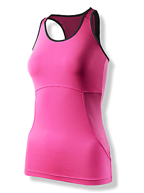 Clothin® ווסט לרכיבה לנשים בלי שרוולים אופניים ייבוש מהיר / לביש / חדירות גבוהה לאוויר (מעל 15,000 גרם)אפוד / עליונית טנק / טי שירט /