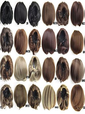 nytt syntetisk klippet i bølgete hår bun skjøteplater chignon ring donut berg hår pad parykk perucas pannebånd