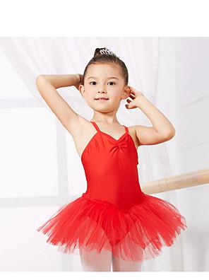 Dětské taneční kostýmy Trikoty Dětské Trénink elastan Bez rukávů CM:110:50,120:53,130:56,140:59,150:61,160:64,170:67,180:70
