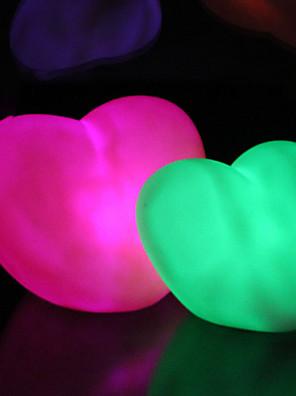 1pcs presentes luminosos dia dos namorados amor do natal