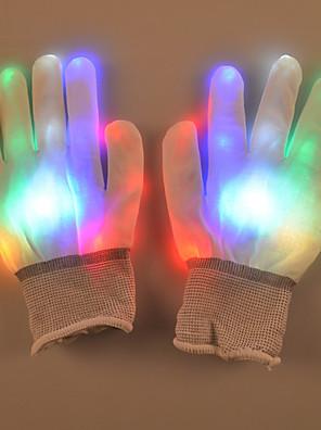 מתנת כפפות פלאש צבעוניות יצירתי של יום ולנטיין אבזרי ריקוד רחוב דקל זוהר מנורת האור הוביל