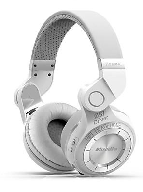 Bluedio T2 + bluetooth stereo trådløse hovedtelefoner indbygget mikrofon mikro-sd / FM radio bt4.1 over-ear hovedtelefoner
