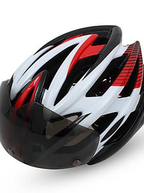 קסדה - לנשים / לגברים / יוניסקס - הר / כביש / ספורט / חצי צדפה - רכיבה על אופניים / רכיבה על אופני הרים / רכיבה בכביש / רכיבת פנאי (צהוב