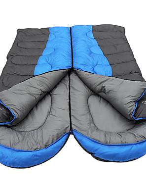 Saco de dormir Retangular Solteiro (L150 cm x C200 cm) Algodão 190cm Equitação / Campismo / Viajar / CaçaÁ Prova de Humidade / Mantenha