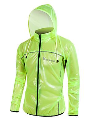 WEST BIKING® Cyklo bunda Unisex Dlouhé rukávy Jezdit na koleVoděodolný / Prodyšné / Zahřívací / Rychleschnoucí / Odolný vůči UV záření /