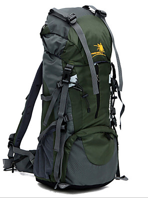 65+5L L ערכות תיקי גב מחנאות וטיולים / דיג / טיפוס / ציד / לטייל / Emergency / רכיבה על אופניים טבעעמיד למים / ייבוש מהיר / תיק קטל מובנה