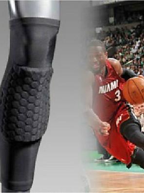 Nakolannik Spor Desteği Ortak destek / Nefes Alabilir / Sol veya sağ diz uyar / Esnek Fitness / Basketbol / KoşmaFildişi / Gümüş / Siyah