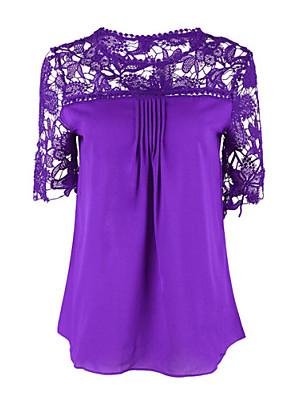 Women's  multicolor Short Sleeve