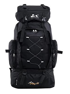 60 L Pacotes de Mochilas / Mochilas de Laptop / Bagagem / Travel Organizer / mochila Acampar e Caminhar / Pesca / Caça / ViajarAo ar