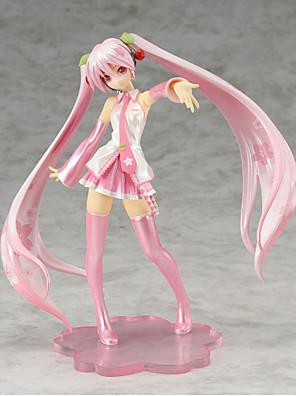 Vocaloid Hatsune Miku PVC One Size Anime Action Figures Model Toys 1pc 16cm