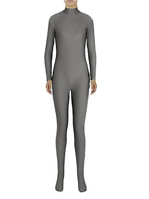 Unisex Zentai Suits Lycra / Spandex Gray Zentai