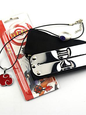 Naruto Akatsuki Cosplay Headband & Ring Set