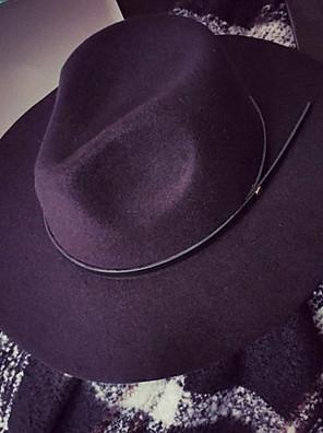 כובע עם שוליים רחבים נשים יום יומי,תערובת צמר חורף / קיץ
