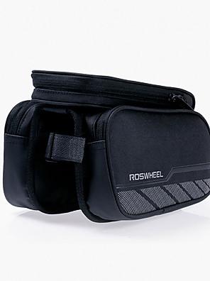 ROSWHEEL® Bolsa de Bicicleta 1.8LBolsa para Quadro de BicicletaZíper á Prova-de-Água / Á Prova de Humidade / Camurça de Vaca á