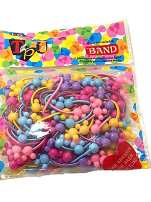 50PCS/pack van Cute Hair Elastiekjes Voor Kinderen (willekeurige kleur)