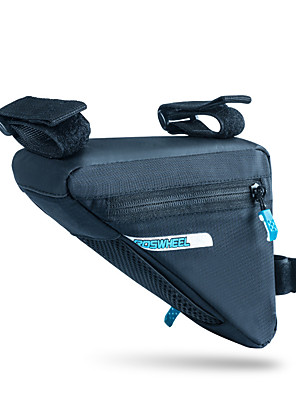 ROSWHEEL® Cyklistická taška 1.2LBrašna na rám Voděodolný zip / Odolný proti vlhkosti / Odolné vůči šokům / Nositelný Taška na koloPU kůže