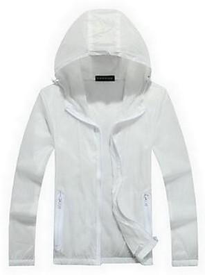 Trilha Blusas Homens Impermeável / Respirável / Secagem Rápida / Zíper Frontal / Anti-Irradiação Primavera / Verão / Outono / Inverno