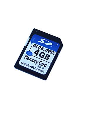 4 GB Paměťová karta SD (třída 4)